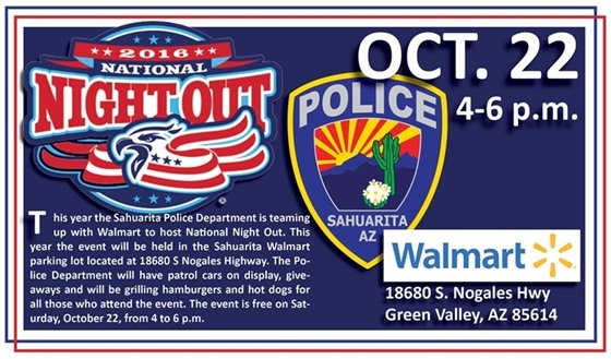 National Night Out Sahuarita