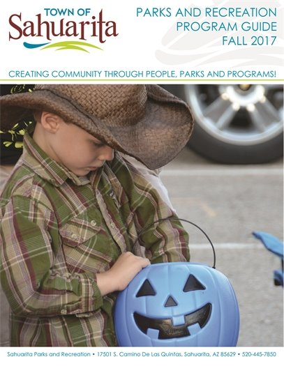 Parks and Recreation Program Guide Cover