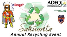 Got Drugs - Sahuarita Annual Recycling Event Poster