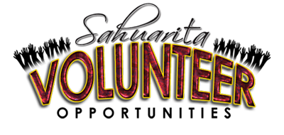 Sahuarita Volunteer Opportunities Logo