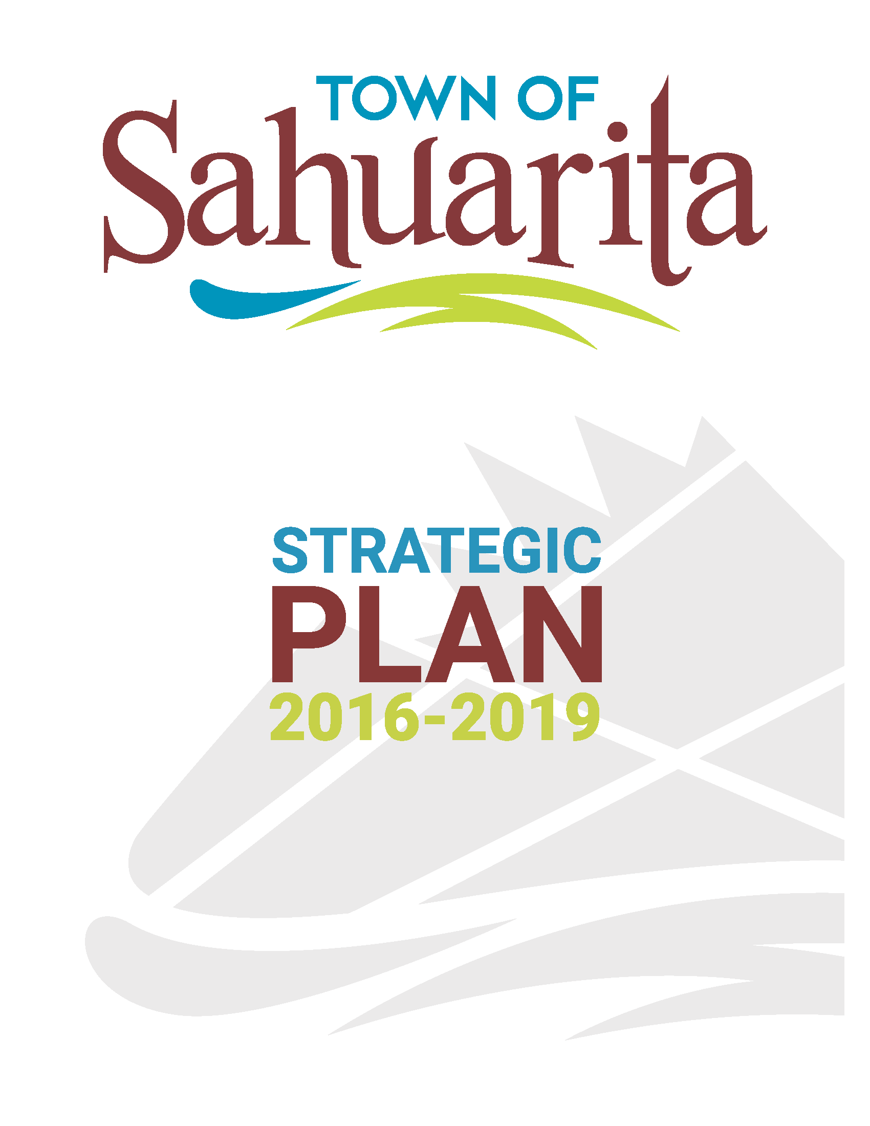 Town of Sahuartia Strategic Plan 2016 to 2019