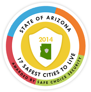 State of Arizona 17 safest cities to live
