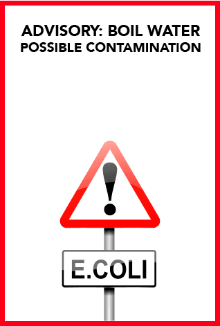 e Coli-WARNING SIGN