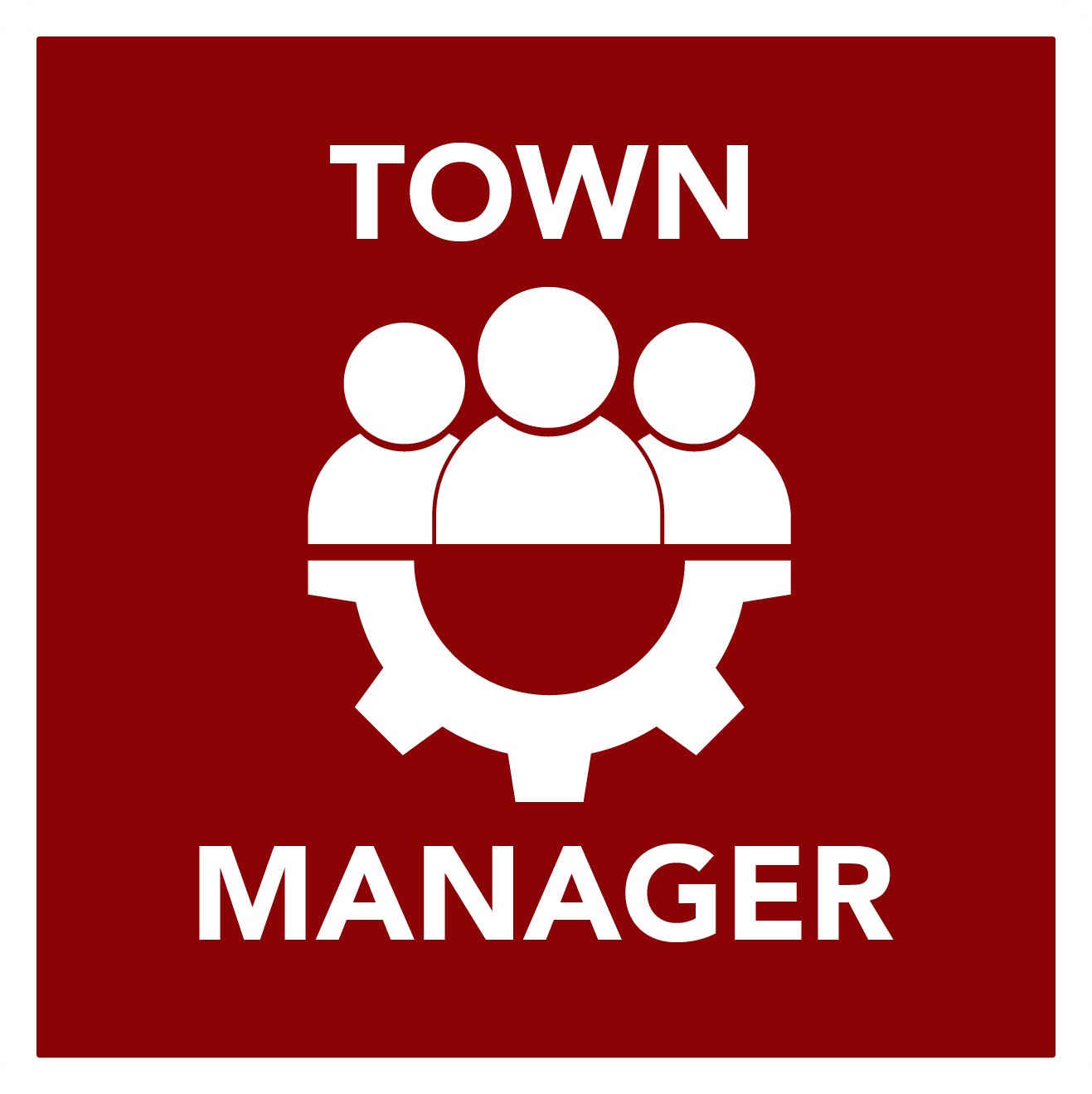Town Manager Button