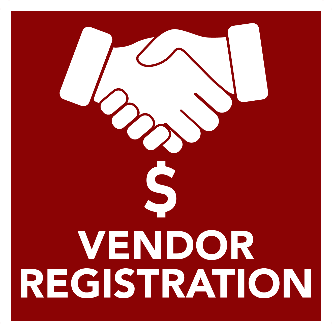 Vendor Registration  - button
