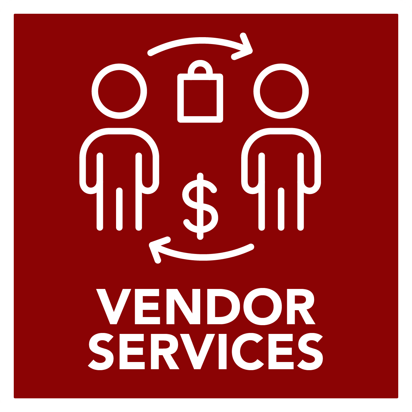 Vendor Services  - button