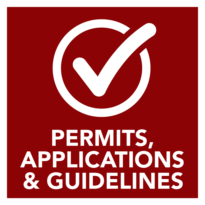 Permits, Applications and Guidelines