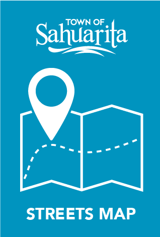 Public and Private Streets Map - Sahuarita